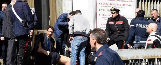 Strage tribunale Milano, funerali di Stato per le tre vittime di Claudio Giardiello