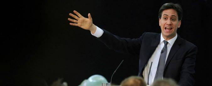 """Regno Unito, Miliband: """"Se vinco elezioni tasserò ricchi domiciliati all'estero"""""""