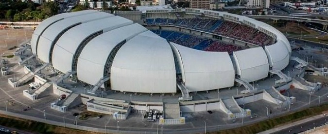 Brasile, in vendita gli (inutili) stadi dei mondiali: saldi a Natal e Salvador