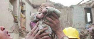 Nepal, salvo neonato di 4 mesi: non è in pericolo dopo giorni sotto le macerie