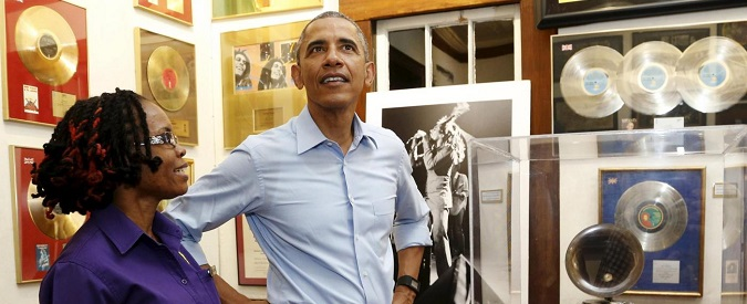 Obama in Giamaica, Obama formato reggae