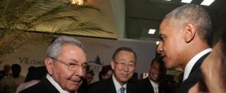 Obama-Castro, le strette di mano che hanno fatto la storia