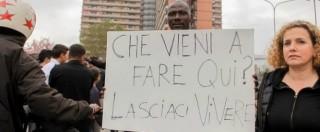 """Salvini """"respinto"""" dai migranti a Porto Recanati. Lui: """"Lo Stato non esiste"""""""