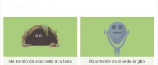 """Quiz della Giornata della Terra, il Google Doodle. """"Che animale, sei pangolino o lontra?"""""""