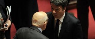 Migranti, Napolitano: 'Governi dicano verità. Riflettere su nuovo ordine mondiale'