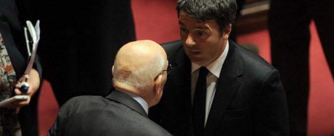 Napolitano, Re Giorgio è tornato e mette in riga Renzi