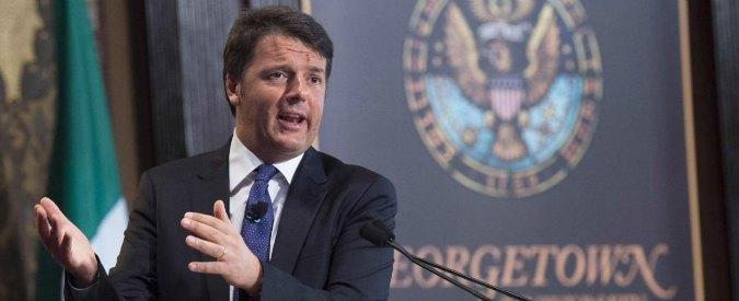 """Renzi: """"Italicum? Sì nelle prossime settimane. E Senato può tornare elettivo"""""""