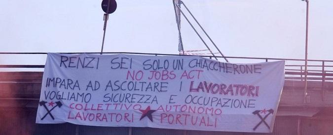 Renzi a Genova, l'isola di Matteo sul Bisagno: da solo per paura dei fischi