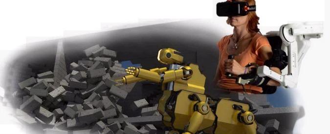 Robot, un centauro soccorritore per gestire a distanza disastri naturali