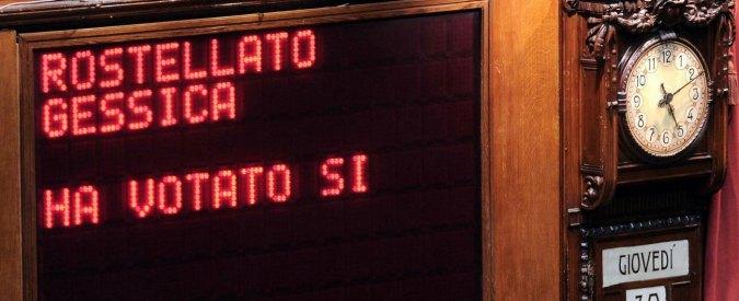 Ex M5S Rostellato vota la fiducia sull'Italicum e aderisce al Partito democratico