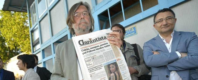 """Il Garantista, editore lascia e attacca i giornalisti: """"Volevano lo stipendio"""""""