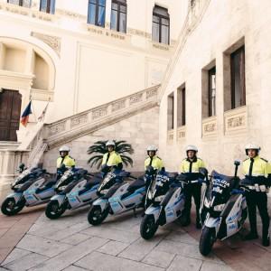 scooter elettrici BMW polizia locale Cagliari