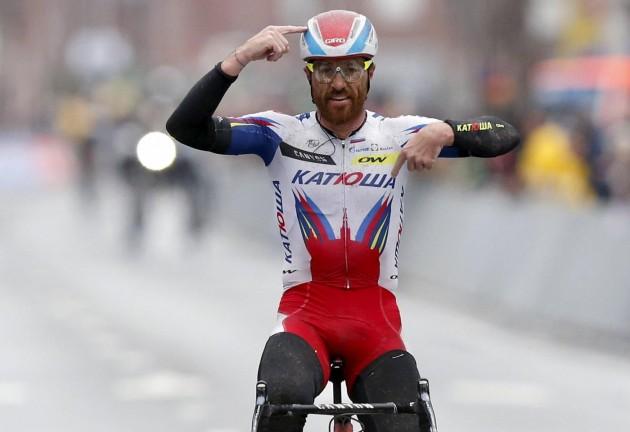 Ciclismo, Lucas Paolini vince la Gent-Wevelgem