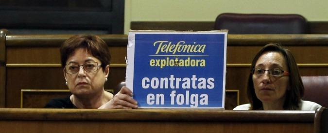 Spagna, mese di sciopero in Telefónica. Internet spento per 200mila