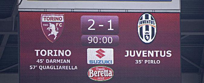 Serie A, risultati e classifica 32° turno – La Juve perde il derby tra bombe carta e assalti