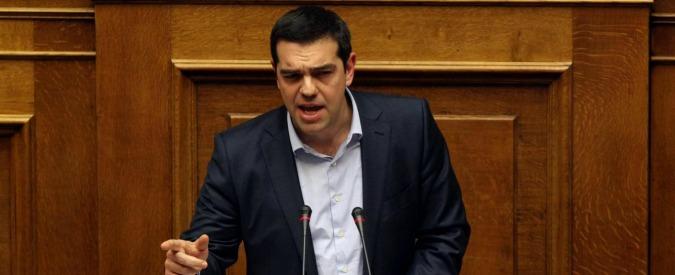 """Grecia, Tsipras: """"Serve una soluzione definitiva sul debito"""""""