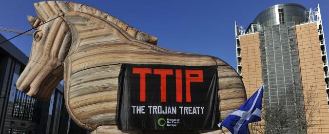 Ttip, il trattato transatlantico sul commercio al centro delle proteste