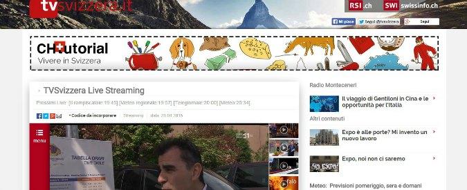 """Expo, la tv svizzera annulla dirette web: """"Disorganizzazione, troppe difficoltà"""""""