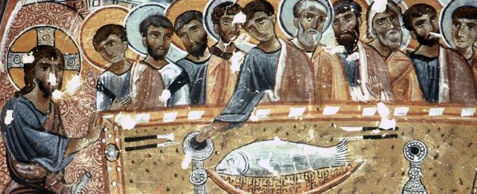 Ultima cena, non solo pane e vino: menù per Gesù e apostoli con pesce e fichi