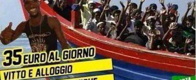 """Migranti, vicesindaco leghista posta fotomontaggio su Facebook: """"Vacanze in Italia"""". """"Dimissioni"""""""