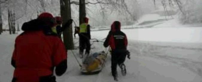 Appennino bolognese, 49enne muore travolto da una valanga a Corno alle Scale