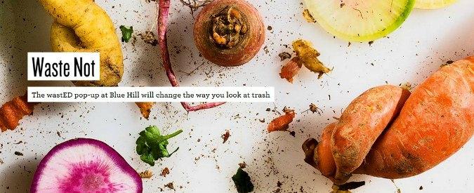 """New York, l'esperimento dello chef: serve piatti fatti con resti e """"spazzatura"""""""
