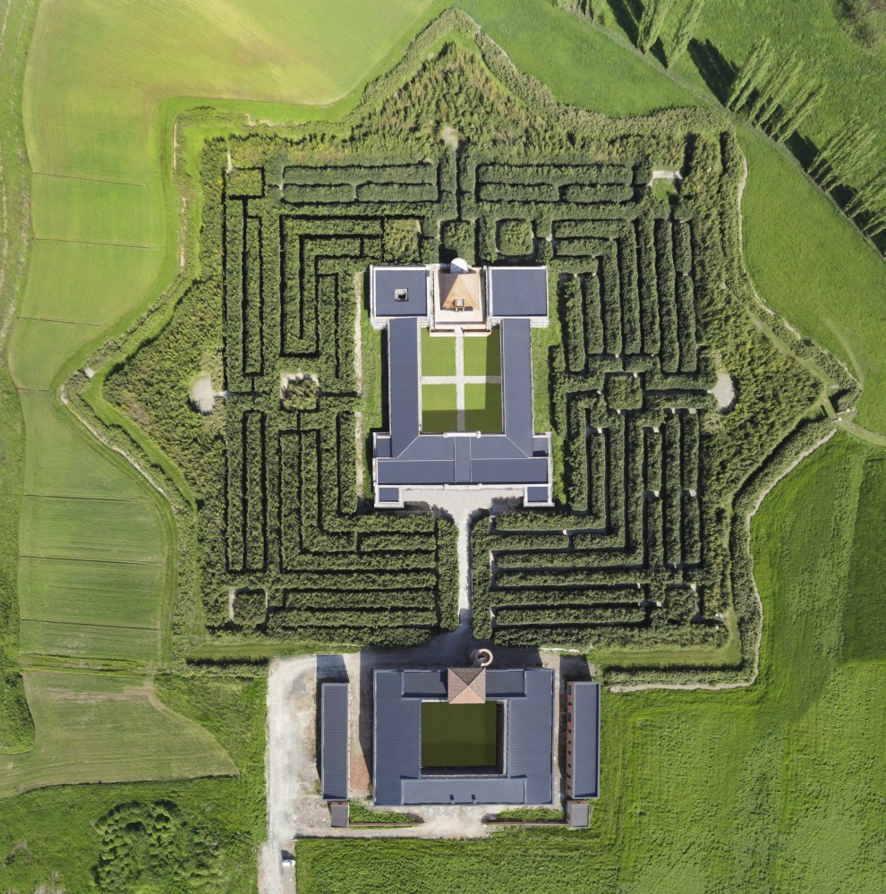 Fontanellato il labirinto di franco maria ricci il pi for Creatore della pianta della casa