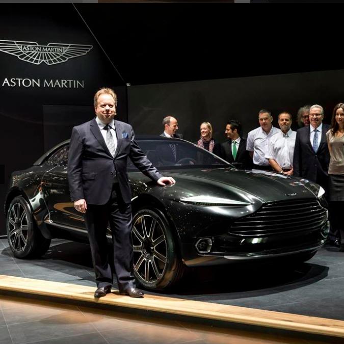 Aston Martin, trovati i fondi per sviluppare la super Suv DBX
