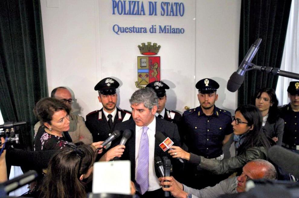 Bruno Megale, dirigente della Digos di Milano