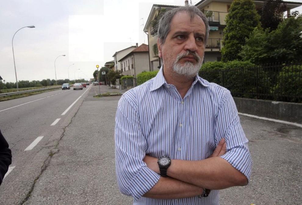 Maurizio Grottoli, vice comandante della Polizia Locale, che ha arrestato a Gaggiano, nel milanese, il giovane marocchino Touil Abdelmajid