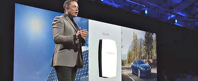 Tesla Powerwall, Musk porta le batterie in casa. Per convertire il mondo al solare