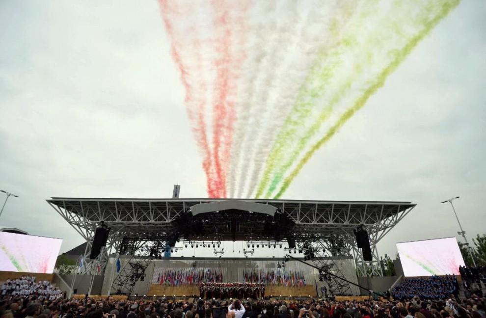 Expo 2015 inaugurazione a milano redagenovesi for Esposizione universale expo milano 2015