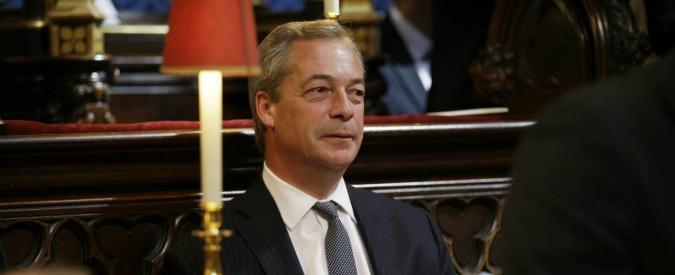 """Regno Unito, rivolta anti-Farage nell'Ukip: """"Concorra per la leadership del partito"""""""