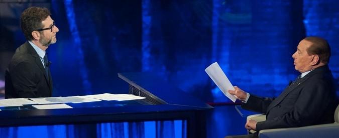 Berlusconi a 'Che tempo che fa': ora nemmeno lui sembra più credere alle sue panzane