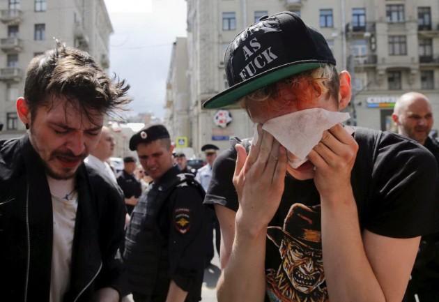 Gay pride Russia 4