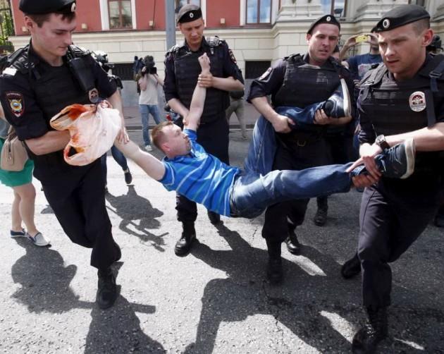 Gay pride Russia 5