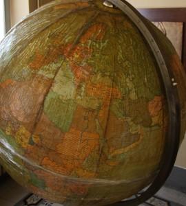 Il globo di Papa Giovanni XXIII, urge il restauro