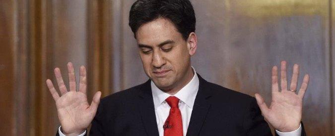 Elezioni Uk 2015, la colpa di Ed Miliband: lasciare un Labour Party senza identità