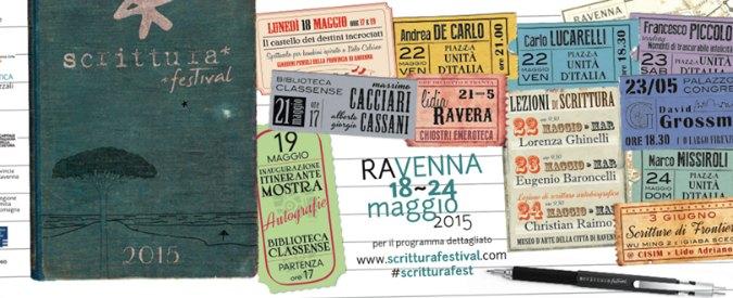 Scrittura Festival 2015: a Ravenna Grossman, Lucarelli, Missiroli e Ravera