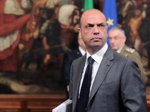 Palazzo Chigi - conferenza stampa dopo vertice straordinario per naufragio migranti
