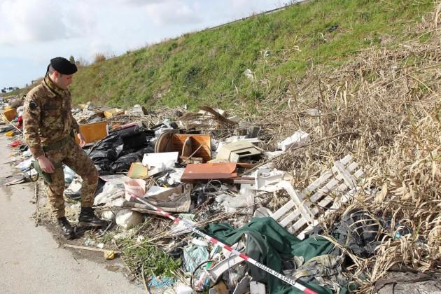 Sequestro aree rifiuti nella Terra Dei Fuochi