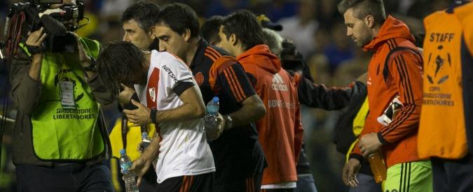 """Boca Juniors-River Plate, i tifosi di casa: """"Spray urticante usato dalla polizia"""""""