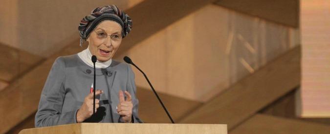 """Emma Bonino: """"Sparita ogni evidenza di cancro. E' messaggio di speranza"""""""