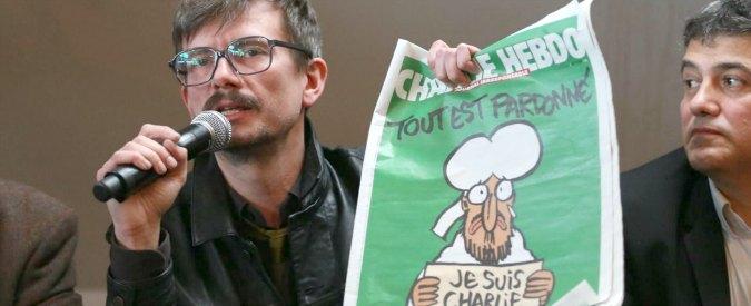 """Charlie Hebdo, il fumettista Luz lascia a settembre: """"Mi sono stufato"""""""