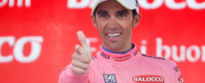 Gilbert re di tappa nel Giro di Contador. Che era El Doloroso ed oggi è El Gaudioso