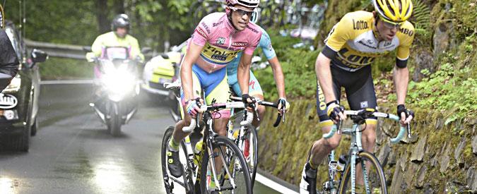 Giro d'Italia 2015, Contador fora, poi sul Mortirolo sfiora il miracolo. Aru cede
