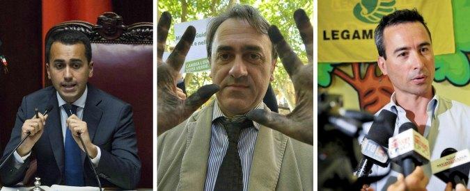 """Ecoreati, Bonelli: """"M5S non voti il ddl"""". Di Maio: """"Con questa legge basta impuniti"""""""