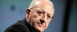"""Pellegrino: """"De Luca non può governare, ci vuole una legge o si torna alle urne"""""""