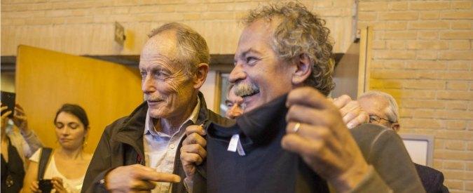 """Erri De Luca e No tav, al processo guerra di dizionari: """"Mai parlato di molotov"""""""