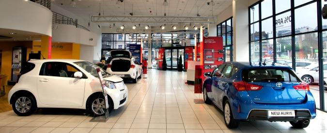 Toyota, sforbiciata ai punti vendita tedeschi: chiudono 100 su 500